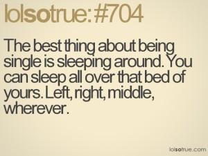 sleep around