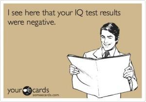 negative IQ