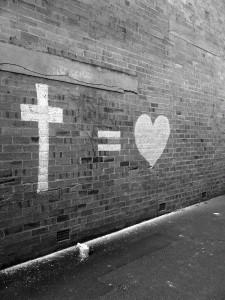 jesus equals love