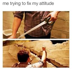 fix my attitude