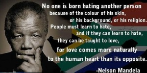no one is born hating